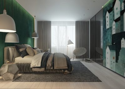 grey-and-green-kids-bedroom